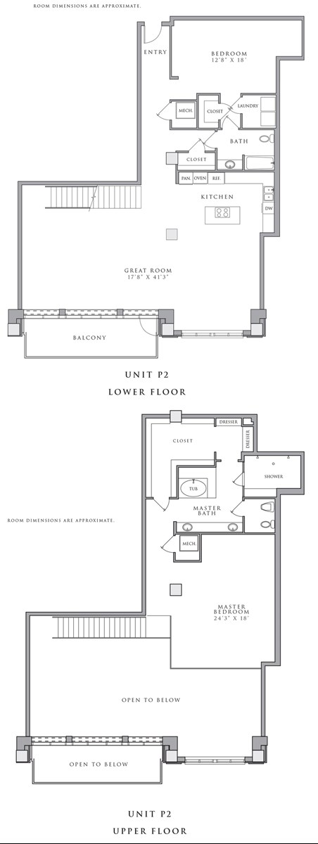 2,757 sq. ft. P2 floor plan
