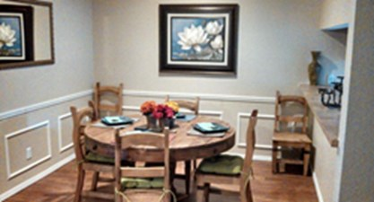 Dining at Listing #217443