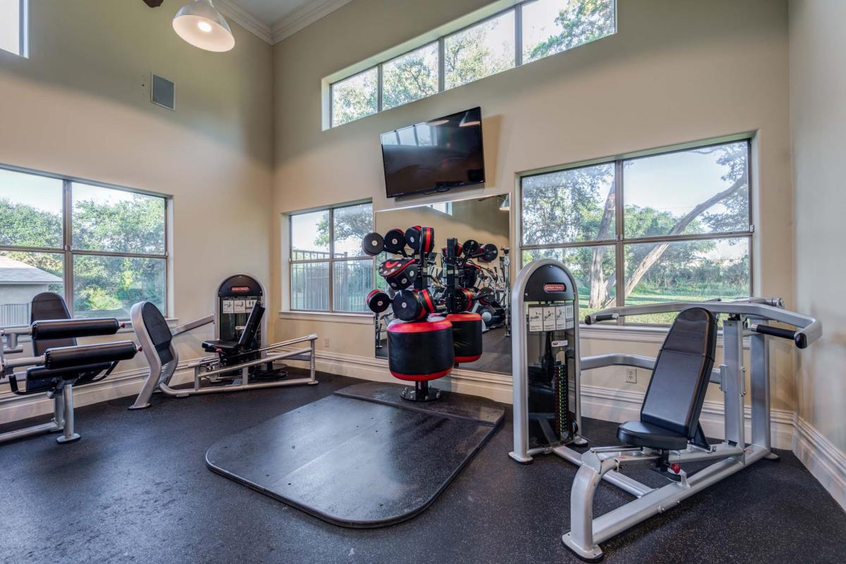Fitness Center at Listing #143945