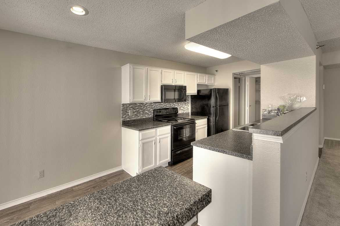 Dining/Kitchen at Listing #135708