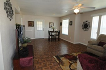 Living/Dining at Listing #144452