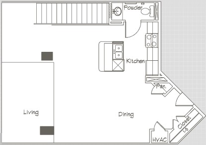 1,630 sq. ft. P3 floor plan