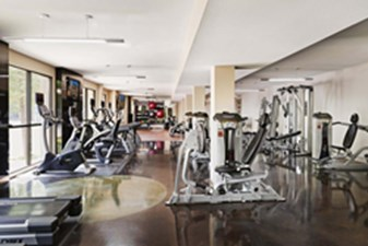 fitness center at Listing #147783