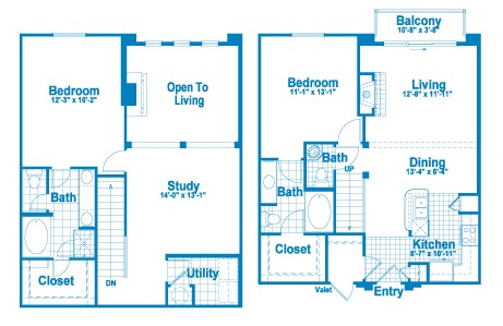 1,572 sq. ft. L3 floor plan