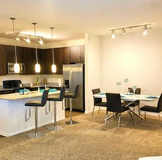 Dining/Kitchen at Listing #279648