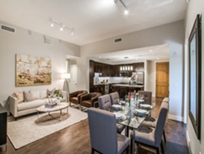 Living/Dining at Listing #264079