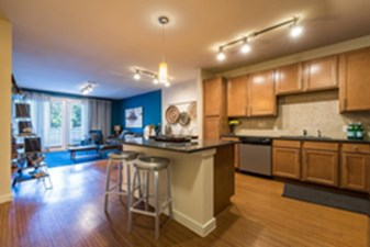 Living/Kitchen at Listing #149174