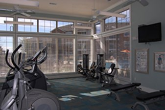 Fitness Center at Listing #147056