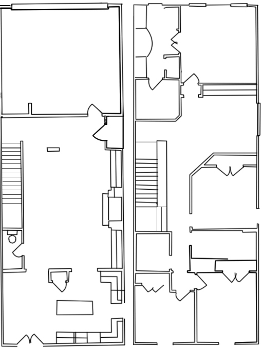 2,200 sq. ft. B floor plan
