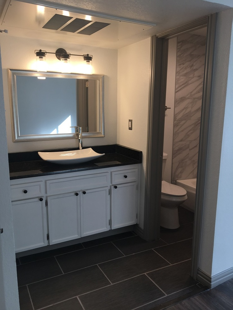 Bathroom at Listing #136665