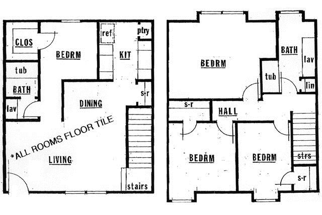 1,242 sq. ft. 60% floor plan