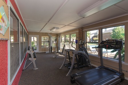 Fitness Center at Listing #135849