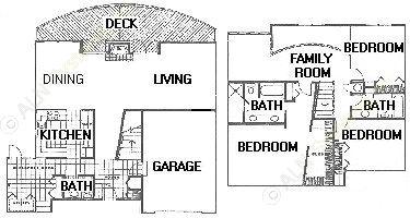 2,107 sq. ft. floor plan