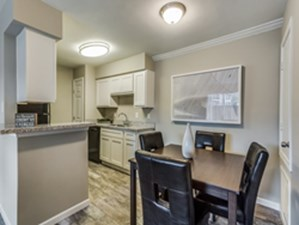 Dining/Kitchen at Listing #138483