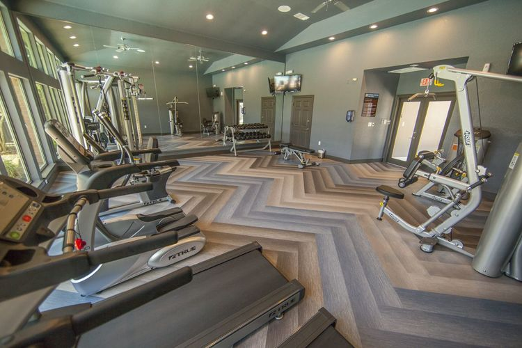 Fitness Center at Listing #137755