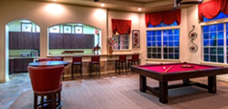Gameroom at Listing #140013