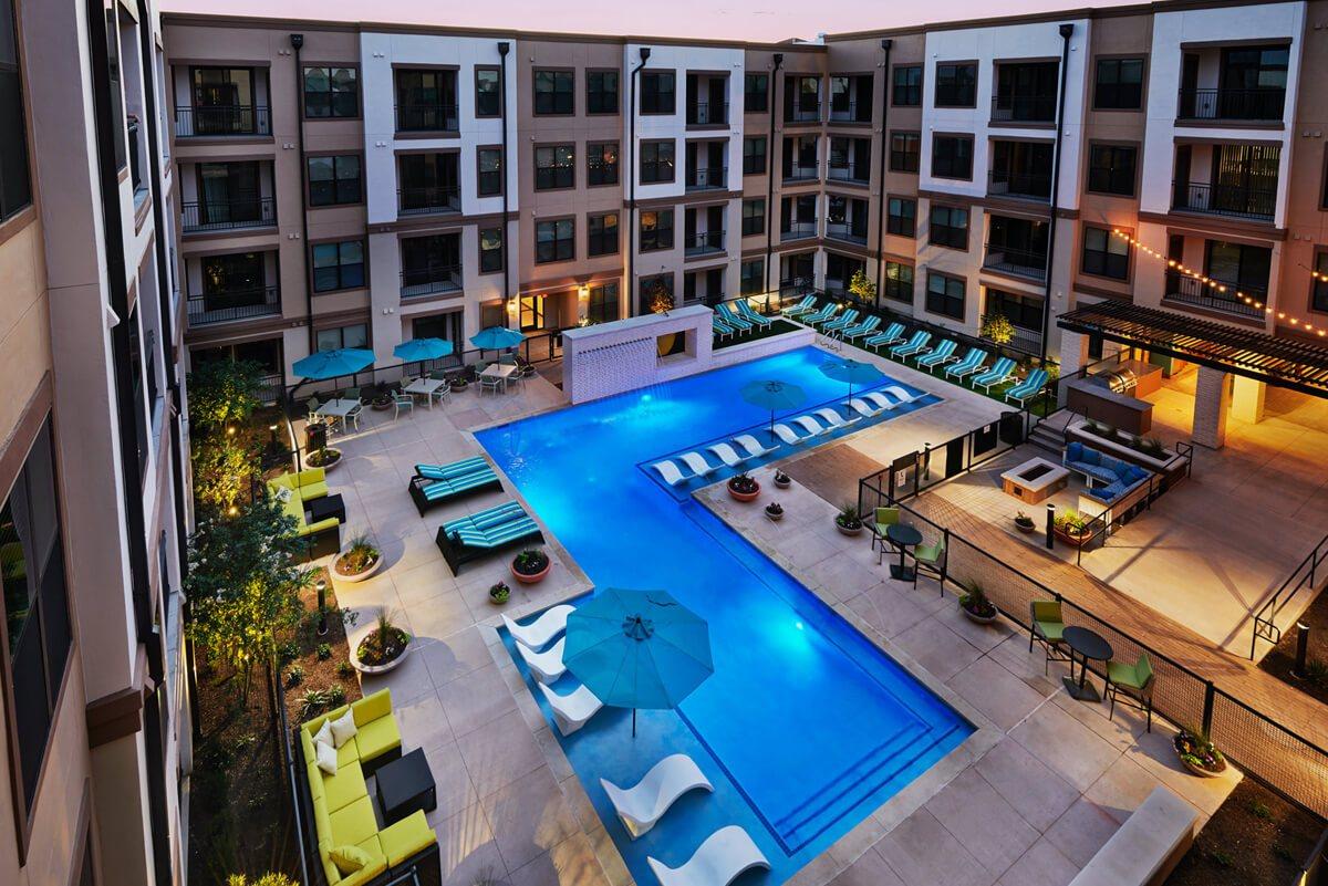 Pool at Listing #242431