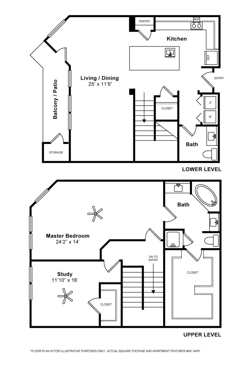 1,587 sq. ft. San Marco floor plan