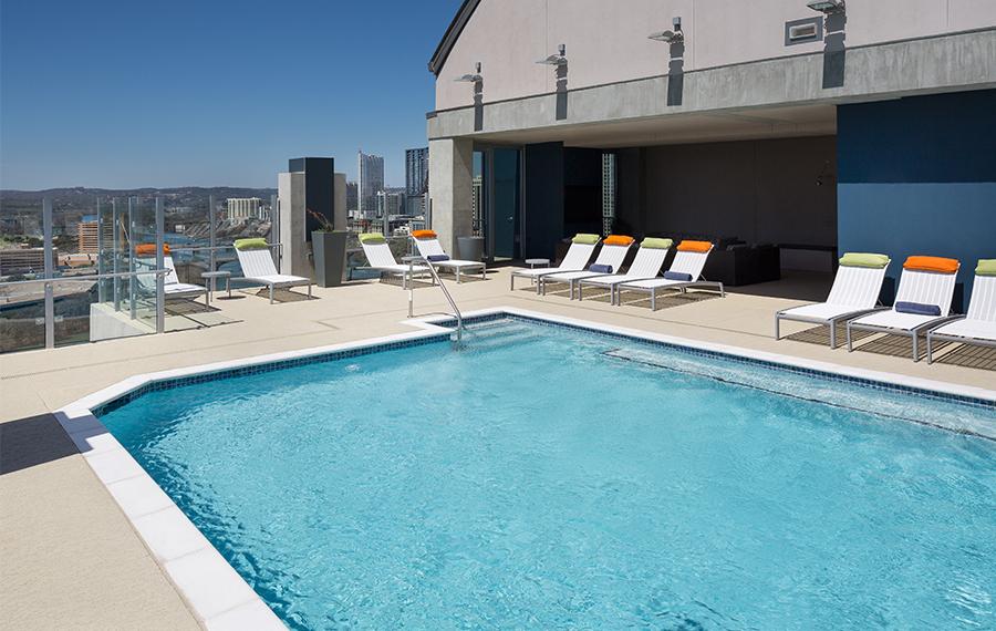 Pool at Listing #226167