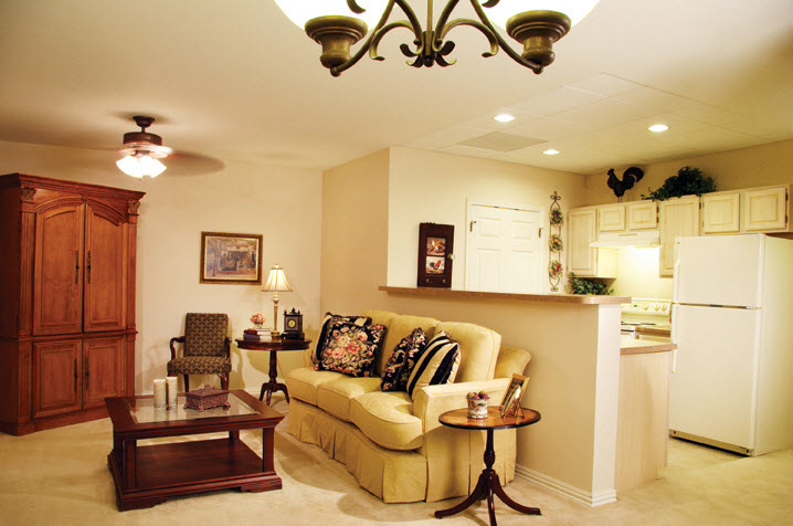 Living/Kitchen at Listing #152864