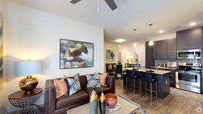 Living/Kitchen at Listing #297372