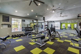 Fitness Center at Listing #137756