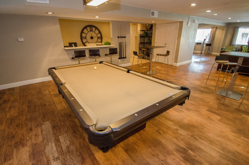 Gameroom at Listing #135821