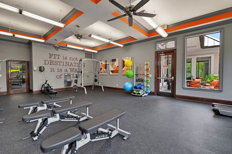 Fitness Room at Listing #144592