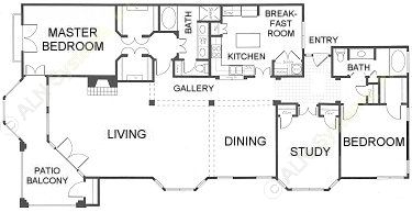 2,328 sq. ft. C2 floor plan