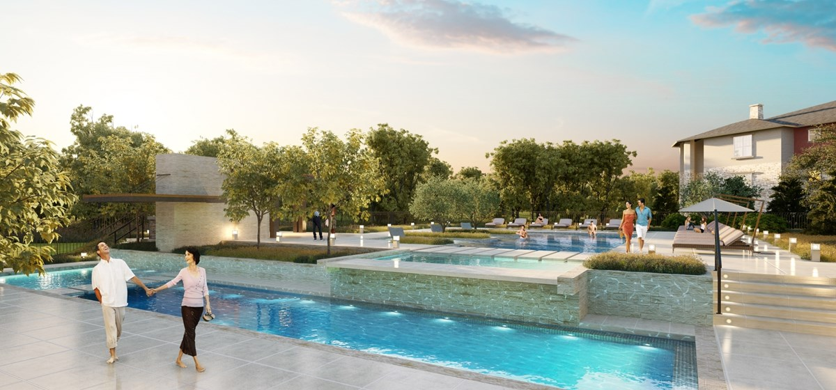 Pool at Listing #277139