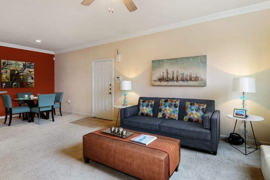 Living/Dining at Listing #137885