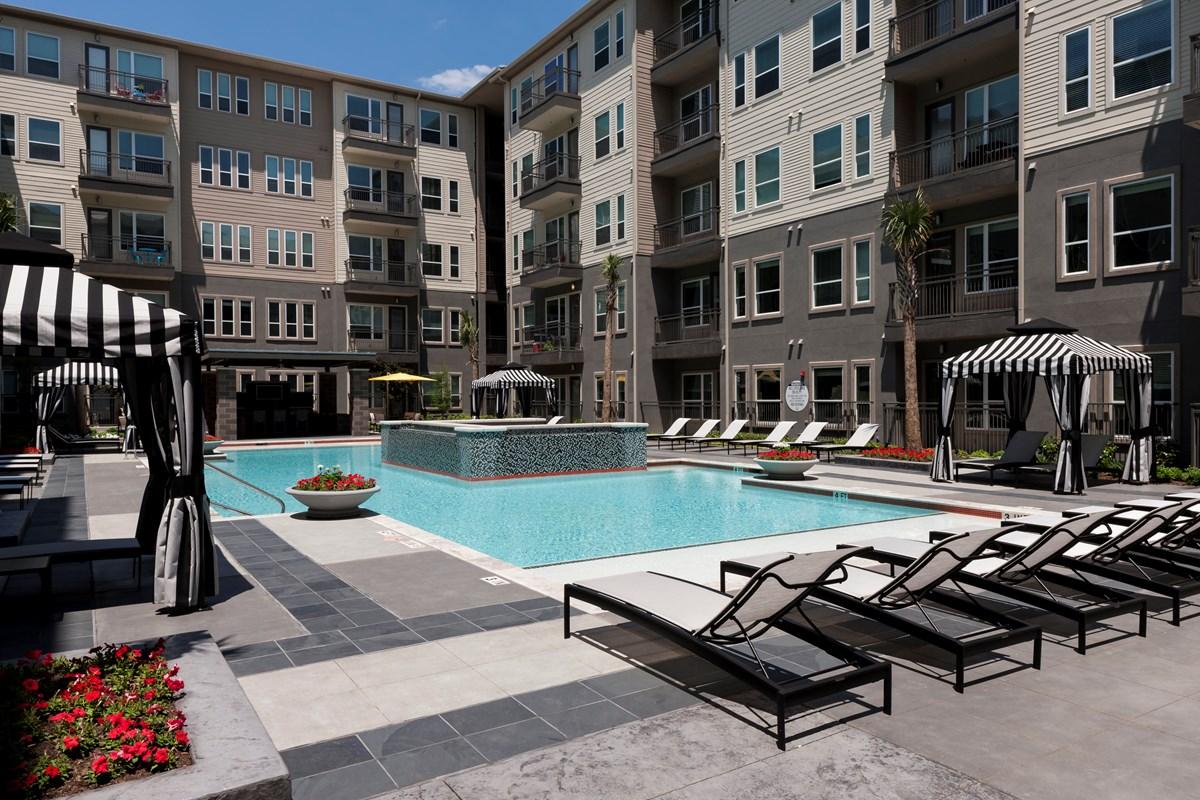 Pool at Listing #252380