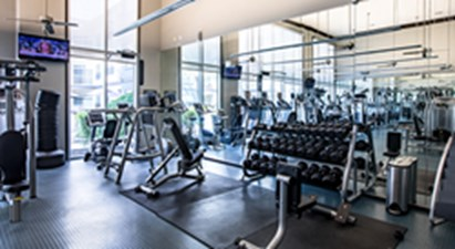 Fitness Center at Listing #146125