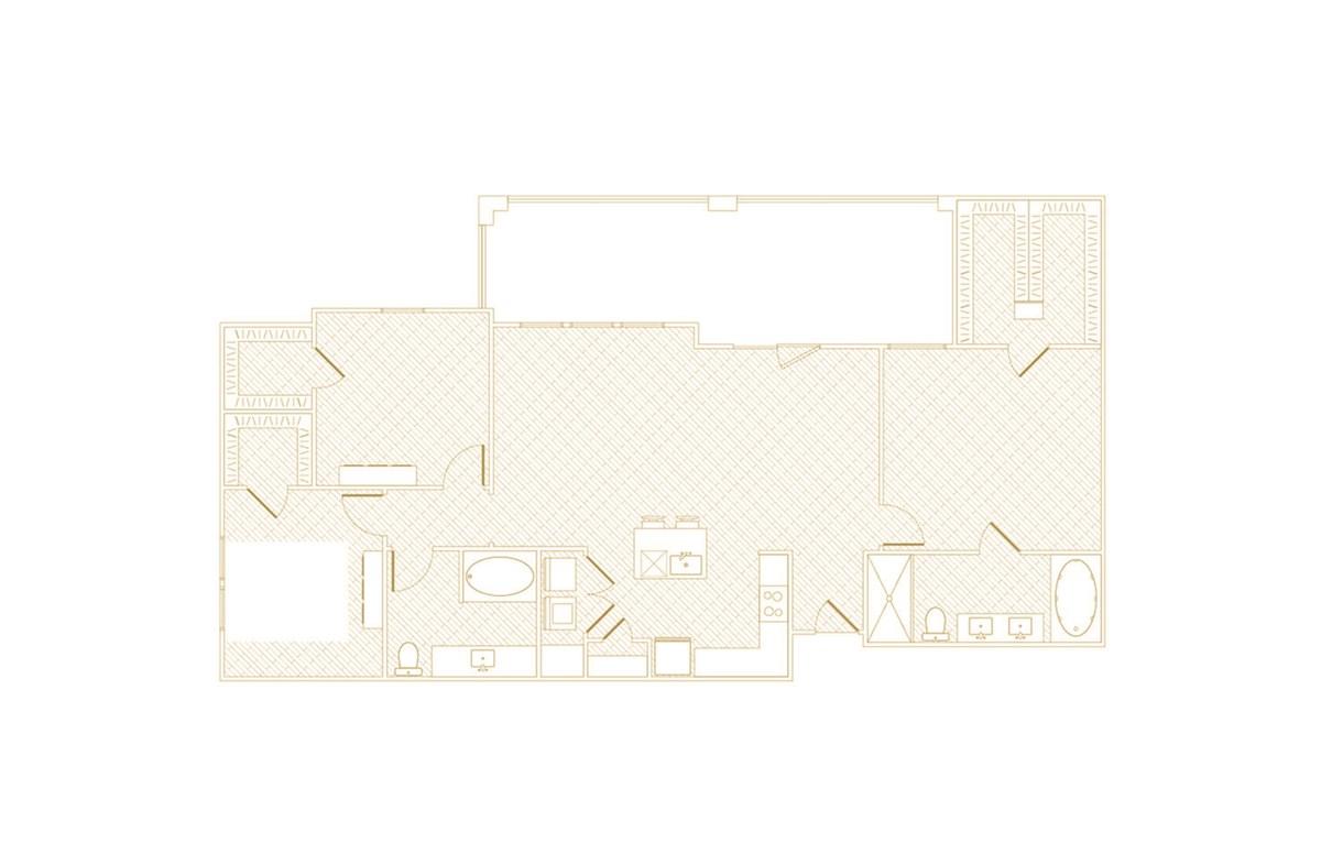 1,567 sq. ft. Shine floor plan