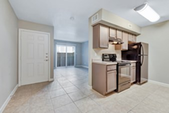 Living/Kitchen at Listing #139627