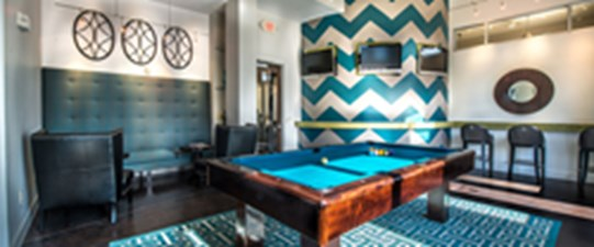 Gameroom at Listing #144797