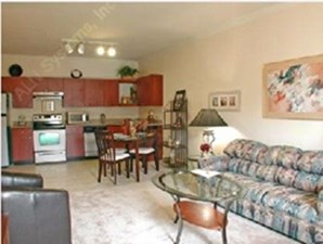 Model Living Area at Listing #144661