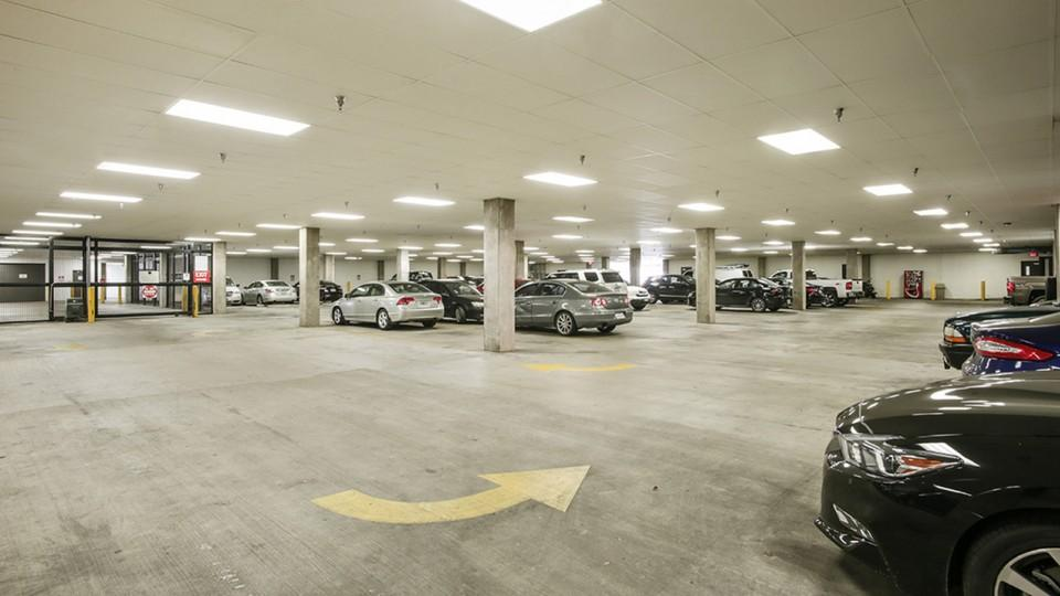 Covered Parking at Listing #145771