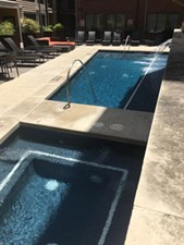 Hot Tub at Listing #146262