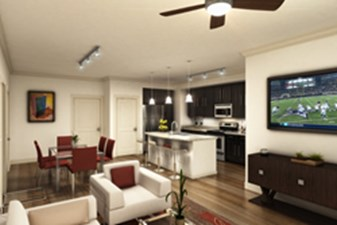 Dining/Kitchen at Listing #281664