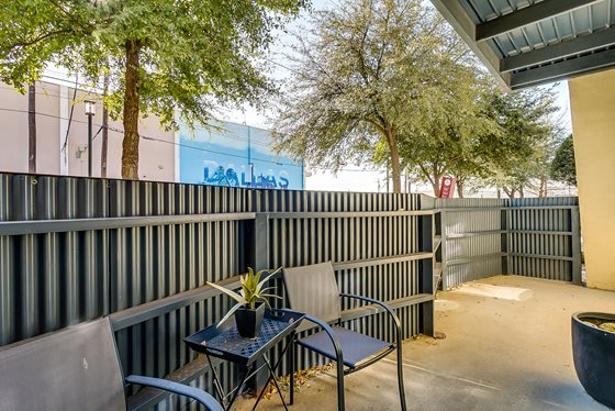 Patio at Listing #146307