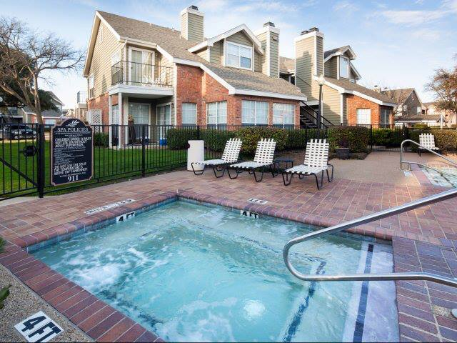Hot Tub at Listing #135856