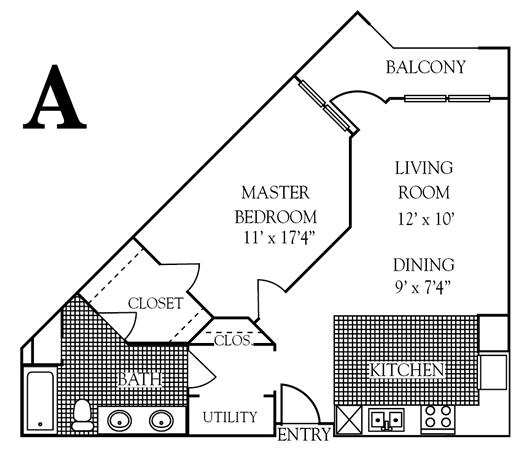 729 sq. ft. to 838 sq. ft. 30% floor plan