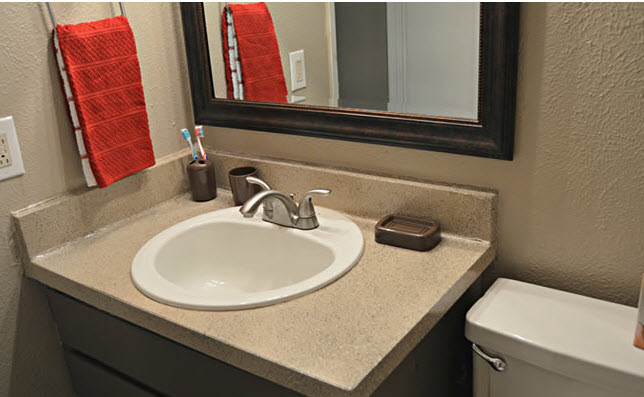 Bathroom at Listing #217470