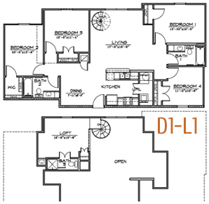1,567 sq. ft. floor plan