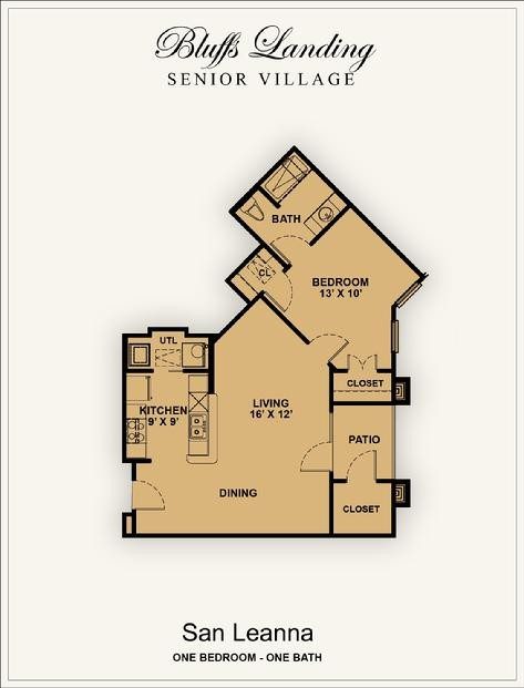 747 sq. ft. 50% floor plan