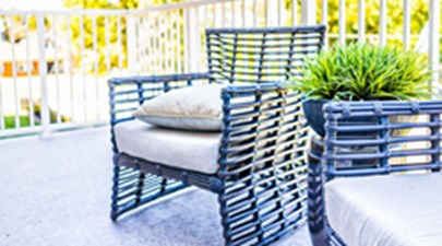 Patio at Listing #136417