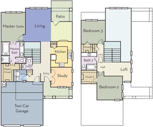 2,104 sq. ft. C2.5CT floor plan