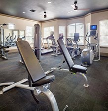fitness center at Listing #137634