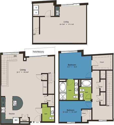 2,178 sq. ft. TSG floor plan